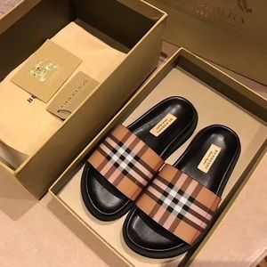 Authentic Burberry slides